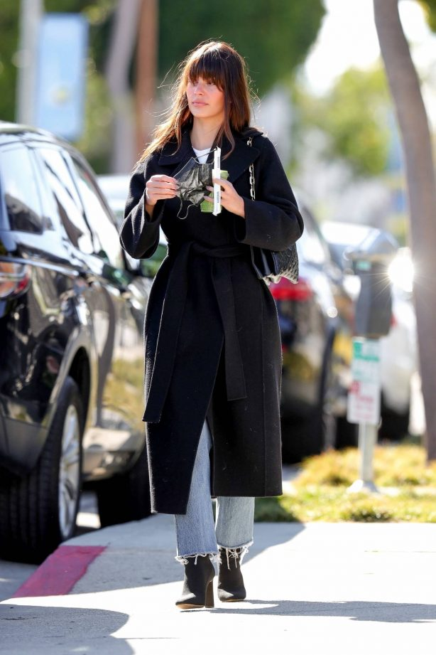 Camila Morrone - Spotted while out in Los Angeles