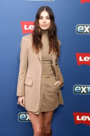 Camila Morrone - Visits 'Extra' at The Levi's Store Times Square in NY