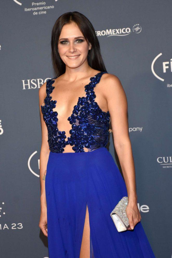Camila Seltzer - Fenix Awards 2016 in Mexico City
