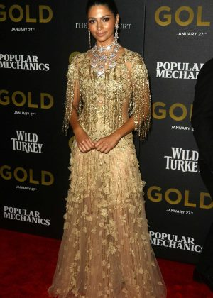 Camilla Alves - 'The GOLD' Premiere in New York