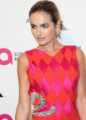 Camilla Belle - Oscars 2015 - Elton John AIDS Foundation Academy Awards Party