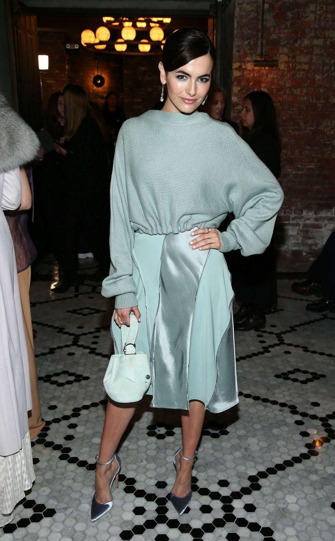 Camilla Belle - Adeam Fashion Show 2018 in New York