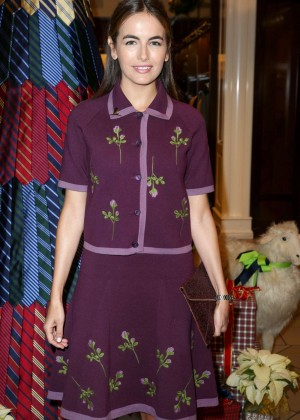 Camilla Belle - Brooks Brothers 2nd Annual Holiday Party in Beverly Hills