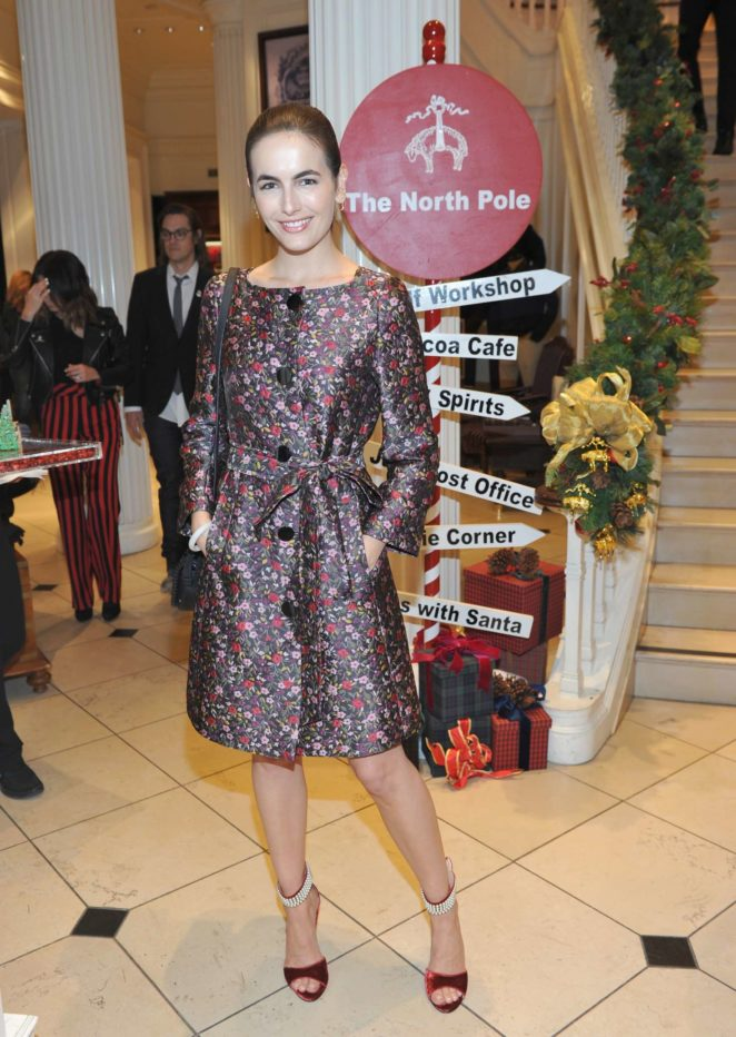 Camilla Belle - Brooks Brothers Holiday Celebration in Beverly Hills