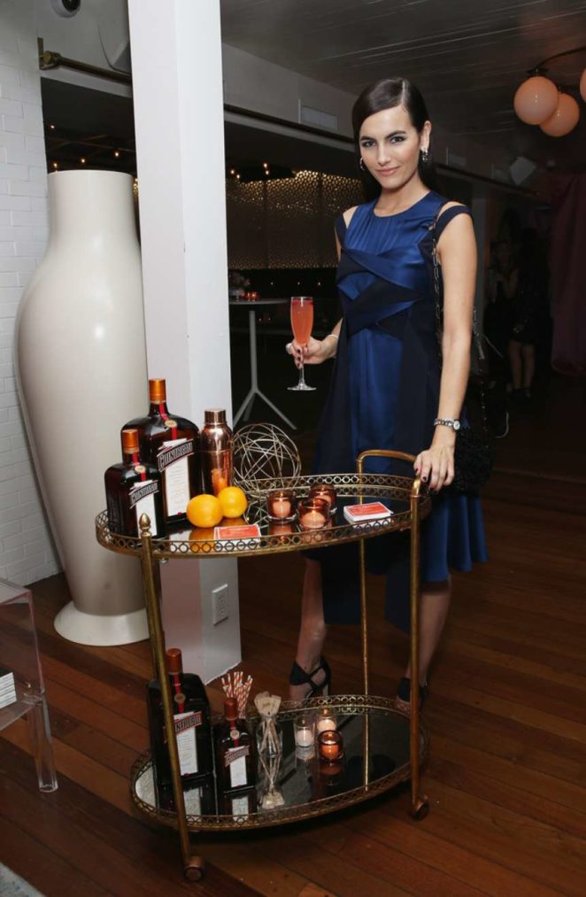 Camilla Belle: Cointreau Celebrates The Cosmopolitan and The Art Of La Soiree -01