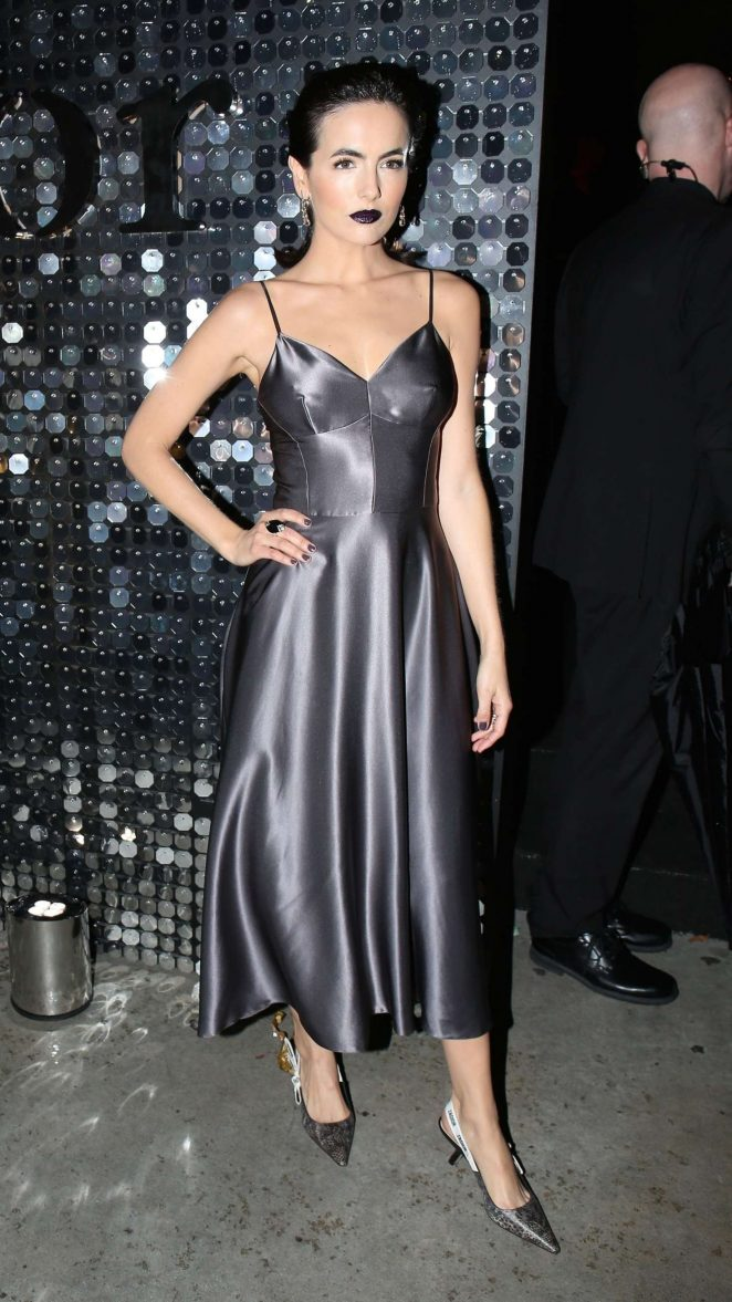 Camilla Belle - Dior Addict Lacquer Pump Launch Party in West Hollywood