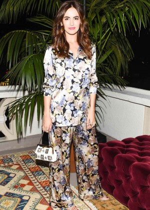 Camilla Belle - Dolce and Gabbana Pyjama Party in Los Angeles
