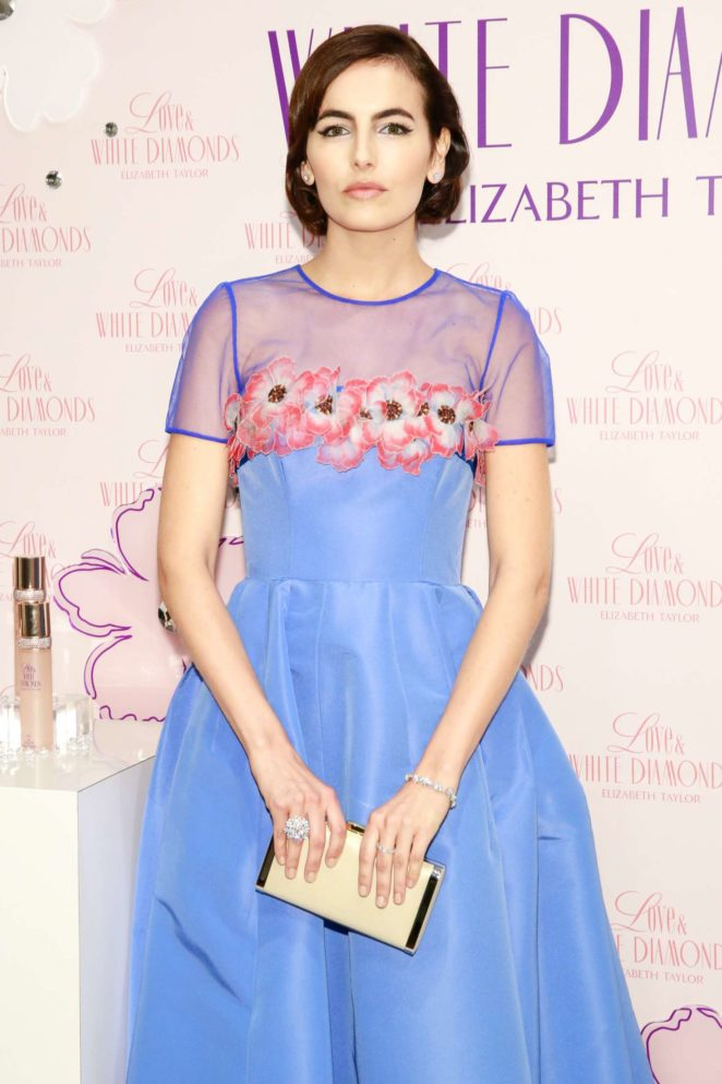 Camilla Belle - Launches Love and White Diamonds Fragrance in NYC