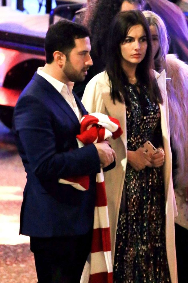 Camilla Belle - Leaves Seth Macfarlane Holiday Party in Beverly Hills