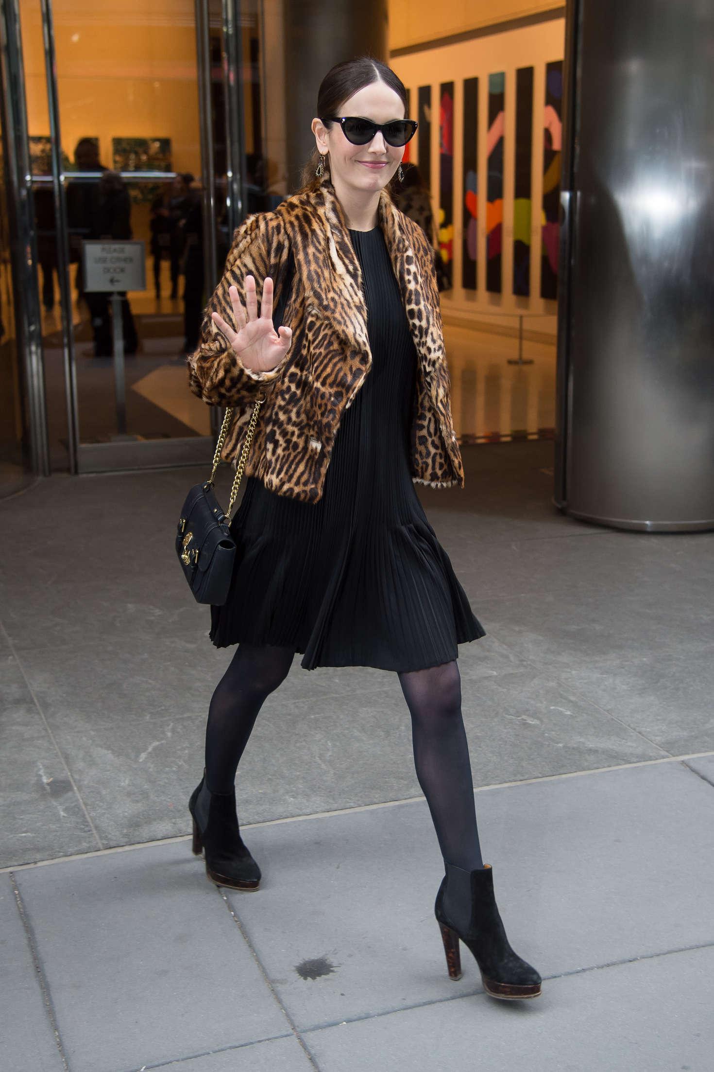 Camilla Belle - Leaving Polo Ralph Lauren Presentation in NYC