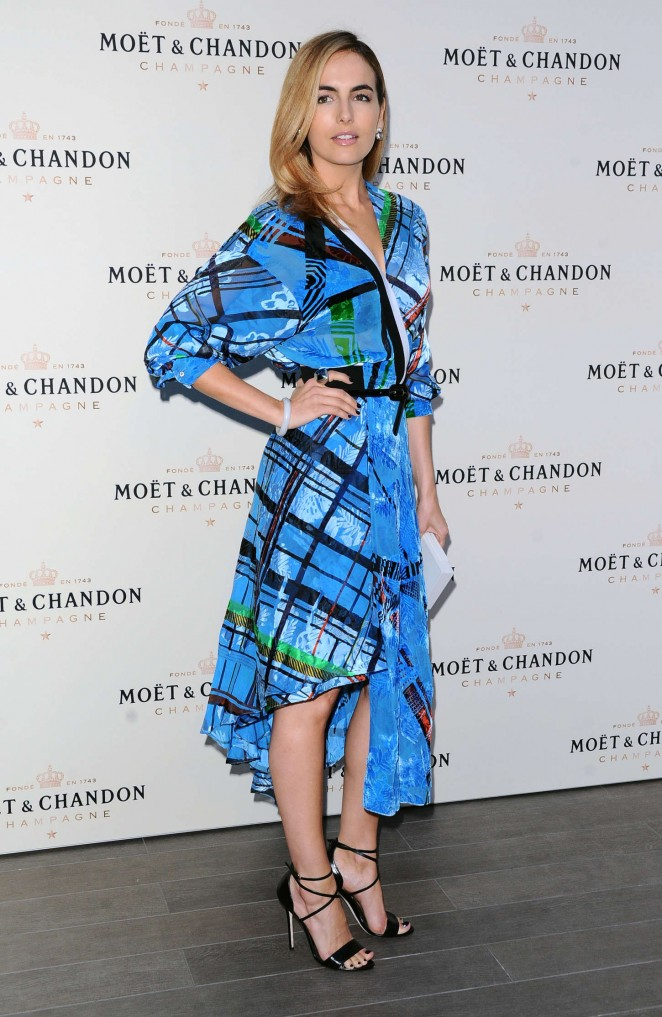 Camilla Belle - Moet & Chandon toasts Roger Federer's 1,000th Career Win in Beverly Hills