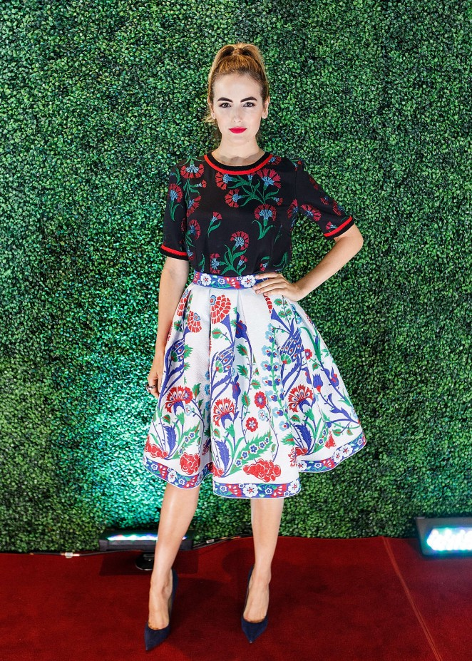 Camilla Belle Nordstrom Vancouver Store Opening Gala In Vancouver