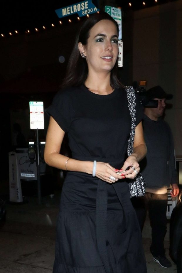 Camilla Belle - Out for dinner at Craig's restaurant in West Hollywood