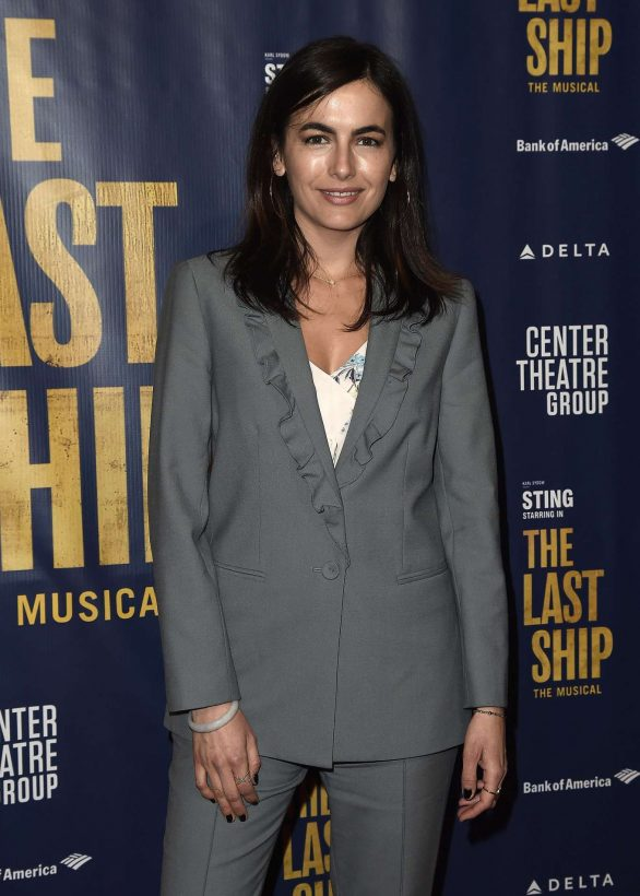 Camilla Belle - The Last Ship Opening Night Performance in Los Angeles
