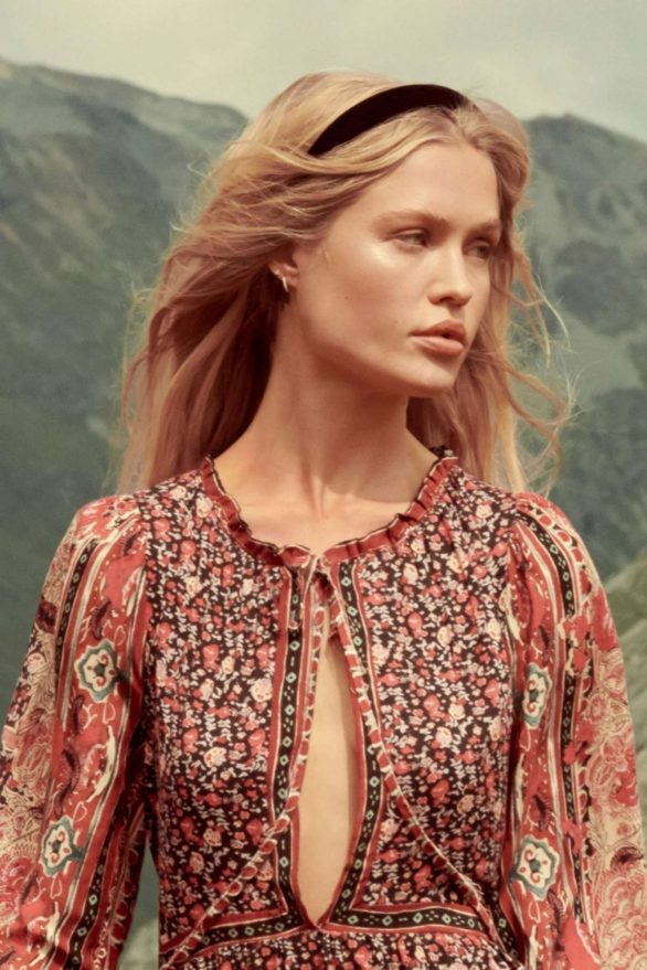 Camilla Christensen - Free People Winter 2019 Catalog