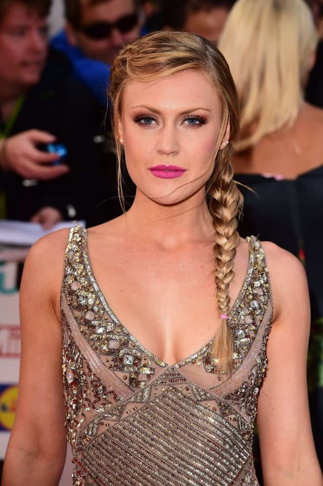 Camilla Kerslake - 2015 Pride of Britain Awards in London