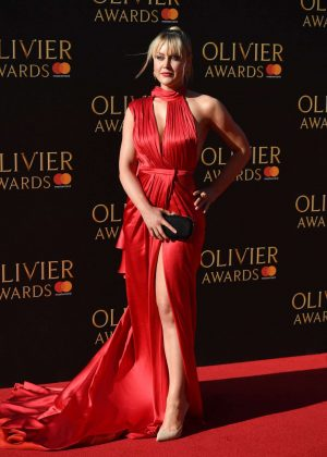 Camilla Kerslake - 2017 Olivier Awards in London