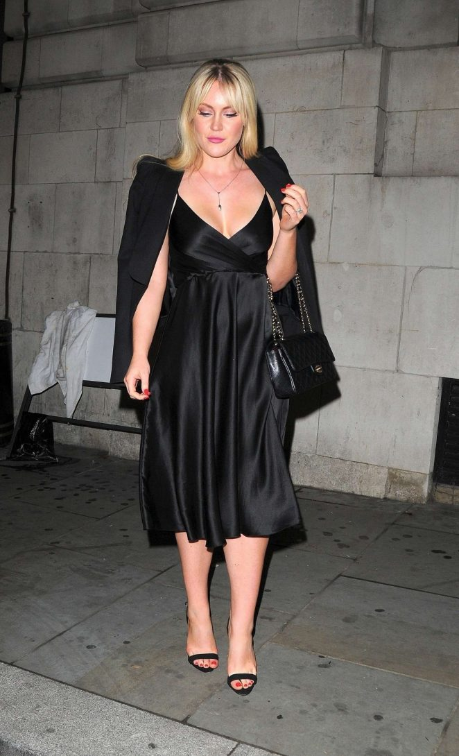 Camilla Kerslake at Loulou's in Mayfair