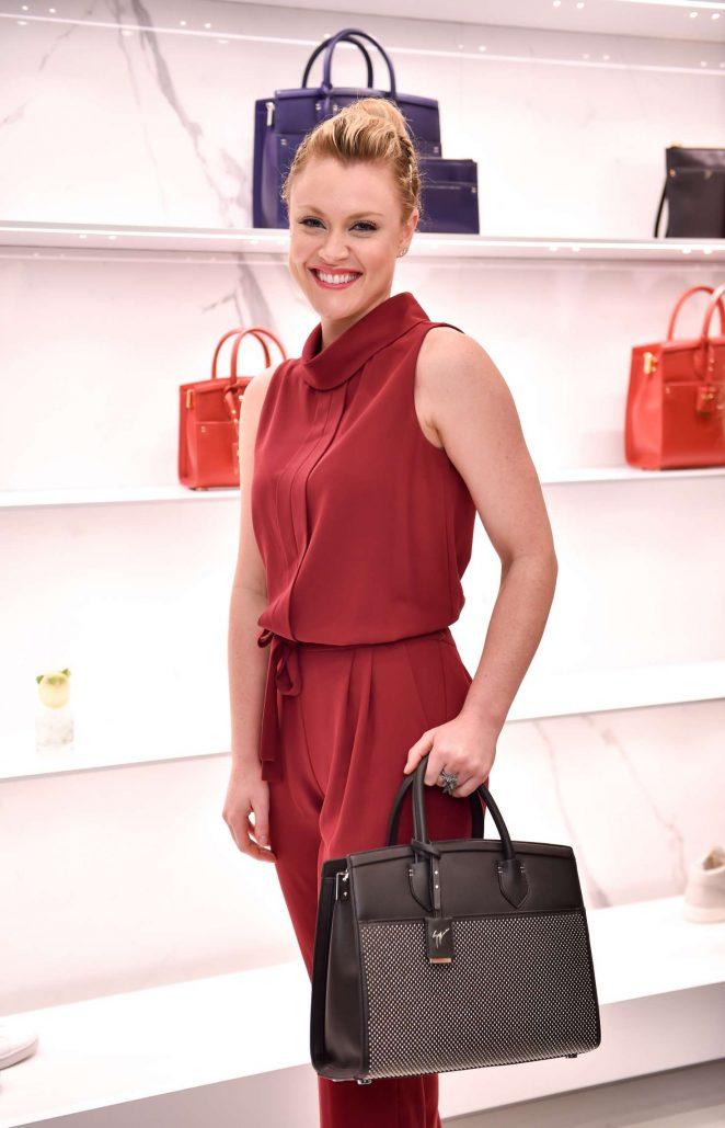 Camilla Kerslake - Giuseppe Zanotti Design Flagship Store Opening in London