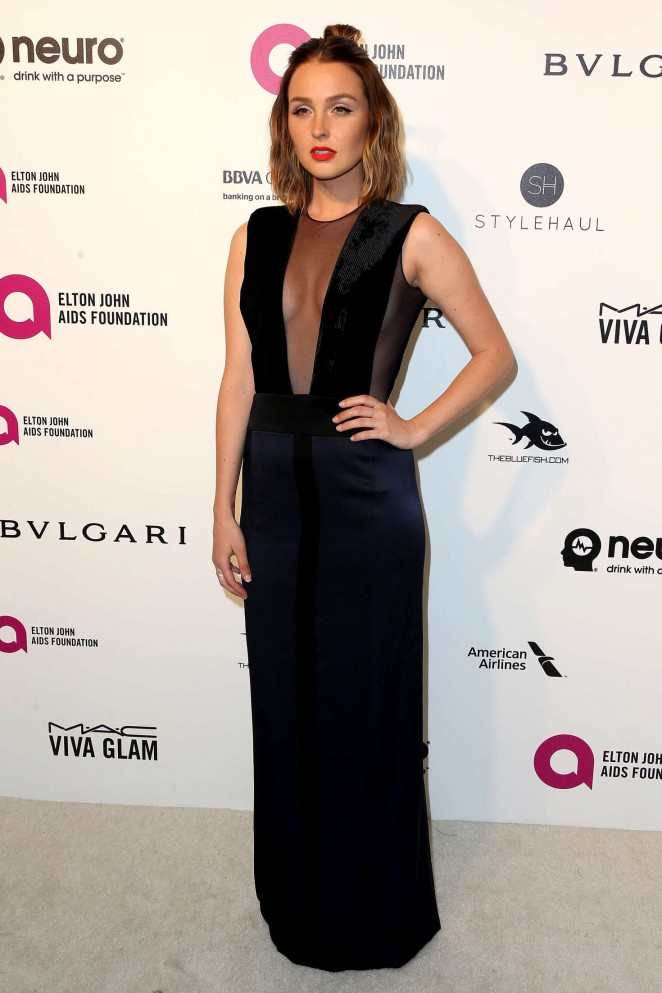Camilla Luddington - 2016 Elton John AIDS Foundation's Oscar Viewing Party in West Hollywood