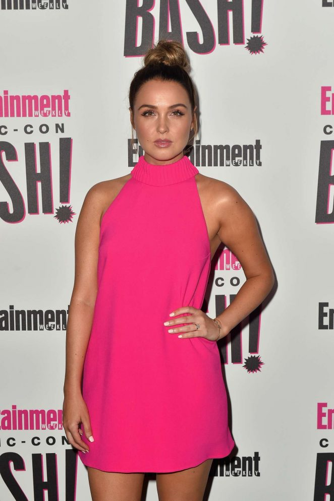 Camilla Luddington - 2018 Entertainment Weekly Comic-Con Party in San Diego