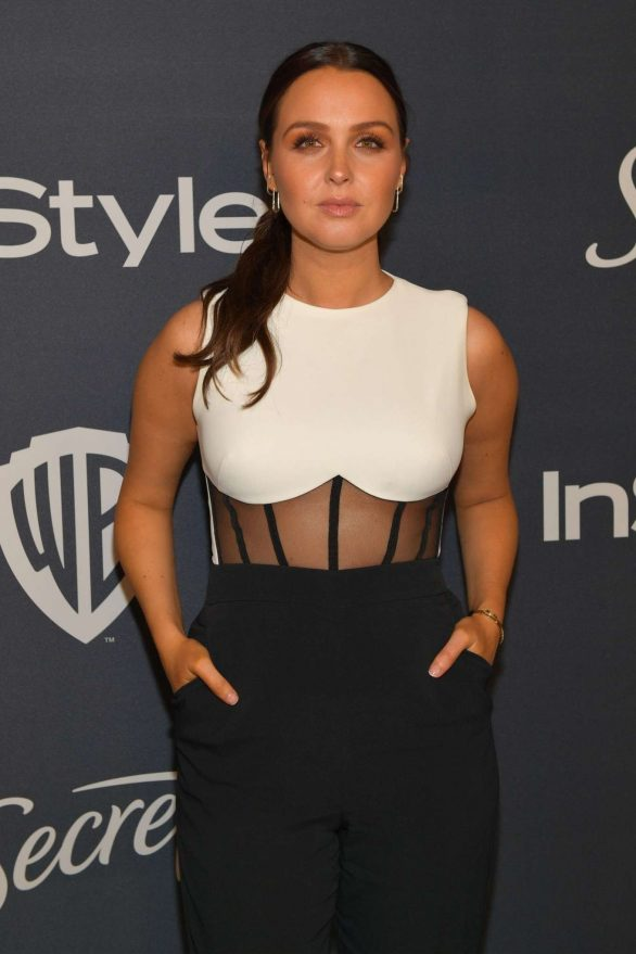 Camilla Luddington - 2020 InStyle and Warner Bros Golden Globes Party in Beverly Hills