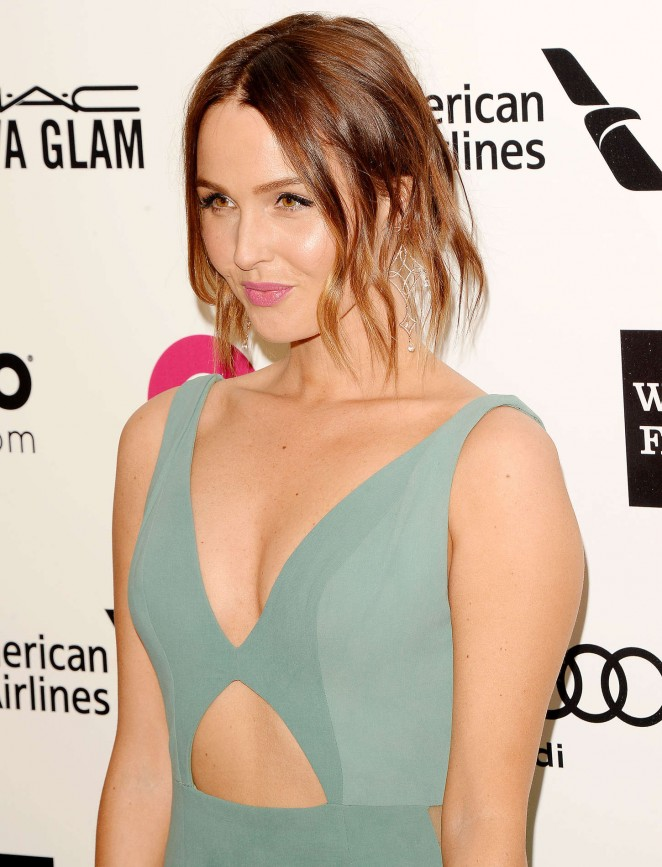 Camilla Luddington – 23rd Annual Elton John AIDS Foundation Academy Awards Viewing Party in LA