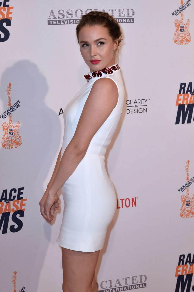 Camilla Luddington - 23rd Annual Race To Erase MS Gala in Beverly Hills