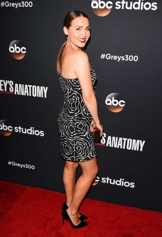 Camilla Luddington: Greys Anatomy 300th Episode Celebration -11