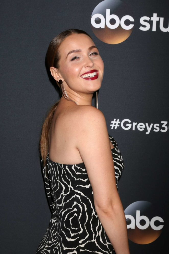 Camilla Luddington: Greys Anatomy 300th Episode Celebration -14
