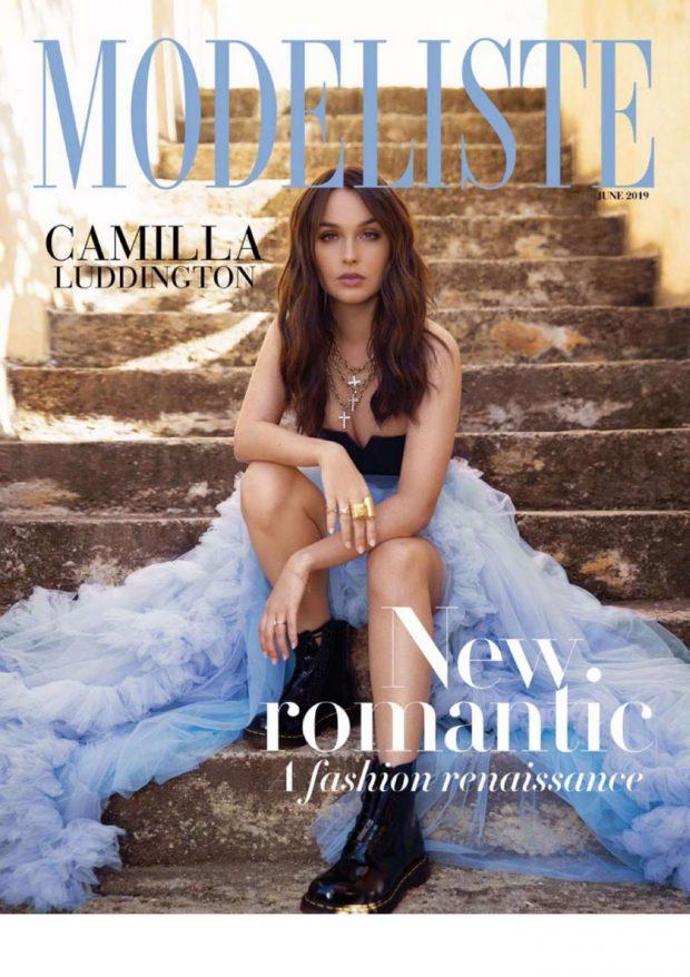 Camilla Luddington - Modeliste Magazine (June 2019 issue)