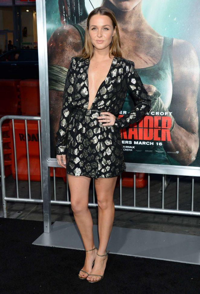 Camilla Luddington - 'Tomb Raider' Premiere in Hollywood