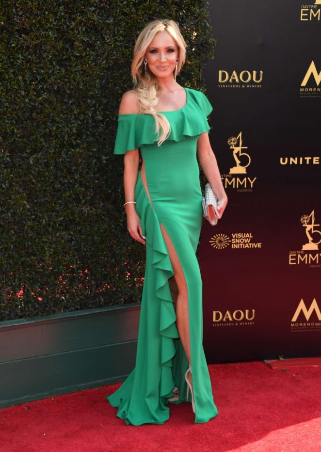 Camille Anderson - 2018 Daytime Emmy Awards in Pasadena