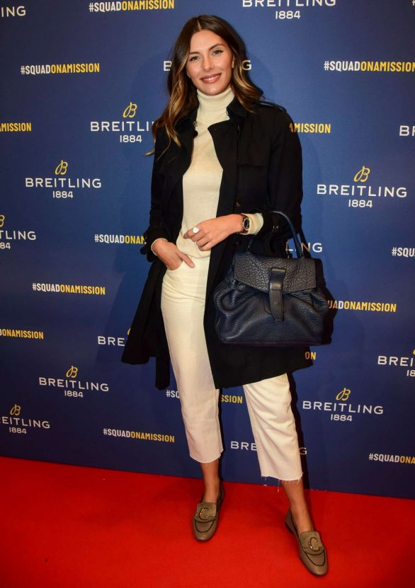 Camille Cerf - Breitling Boutique Opening in Paris