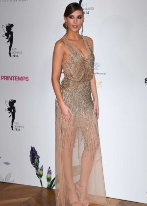Camille Cerf - Les Bonnes Fees Charity Gala in Paris