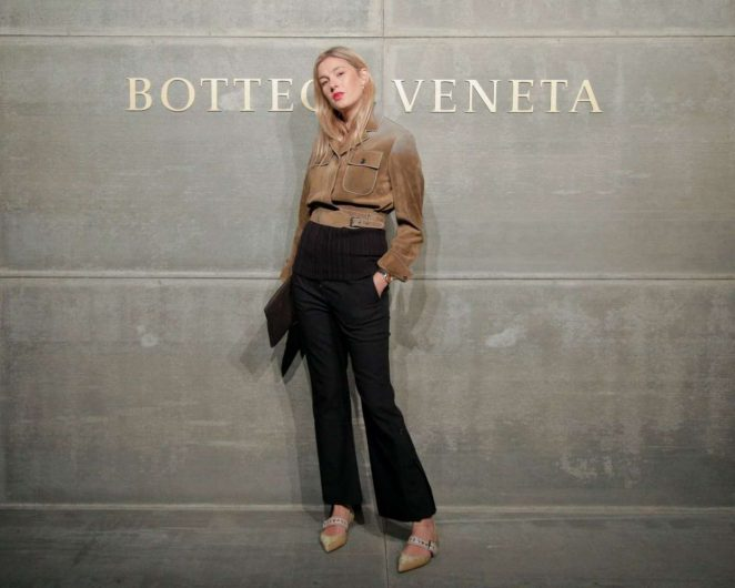 Camille Charriere - Bottega Veneta Fashion Show 2018 in New York