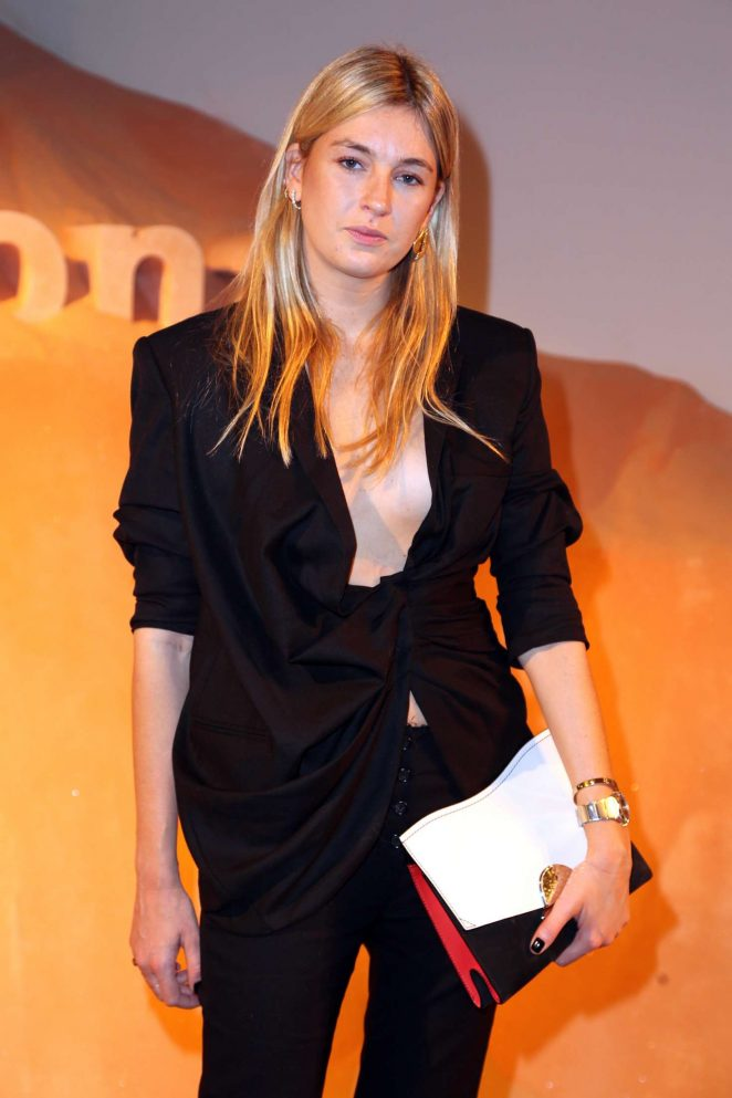 Camille Charriere - Proenza Schouler Fragrance Party FW 2018 in New York