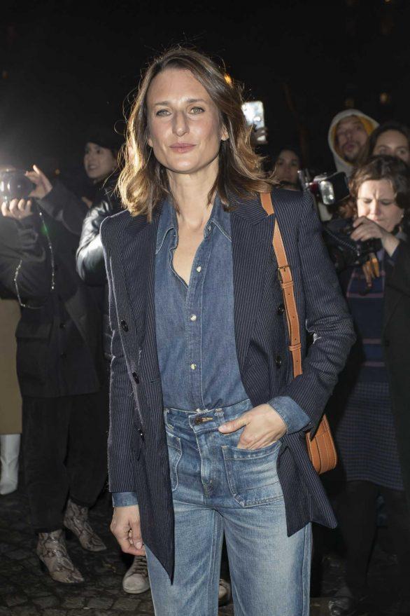 Camille Cottin - Attends the Celine Show in Paris