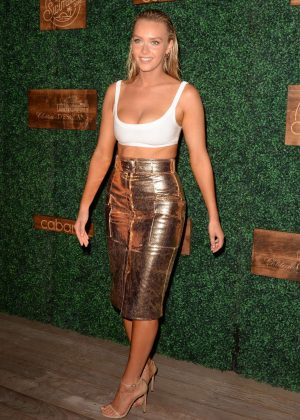 Camille Kostek - 2018 Sports Illustrated Swimsuit Swim Week Party in Miami