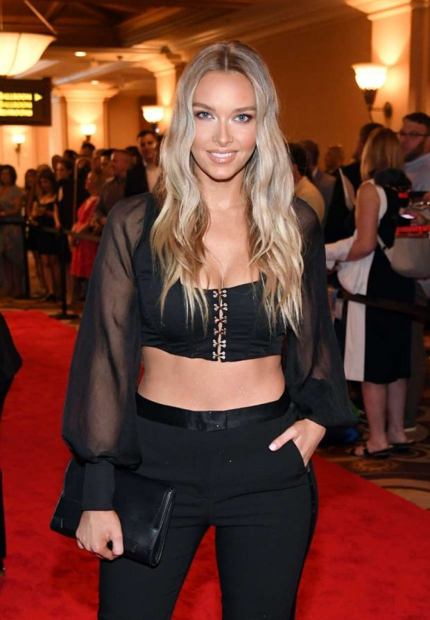 Camille Kostek - 2019 NHL Awards in Las Vegas