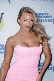 Camille Kostek - 2019 Sports Illustrated Swimsuit Show in Miami