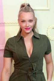 Camille Kostek - Alice and Olivia Fashion Show in New York