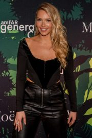 Camille Kostek - amfAR GenerationCURE Holiday Party in New York City
