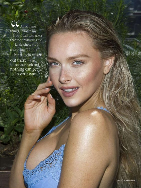 Camille Kostek - Bella Magazine - August 2019