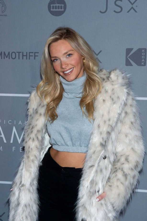 Camille Kostek - Looks radiant at 2020 Mammoth Film Festival in Mammoth Lakes