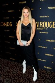 Camille Kostek - Pictured at The Blonds x Moulin Rouge show in New York