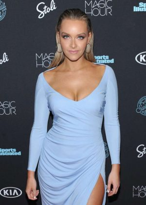 Camille Kostek - Sports Illustrated Swimsuit 2018 Launch Event in NY