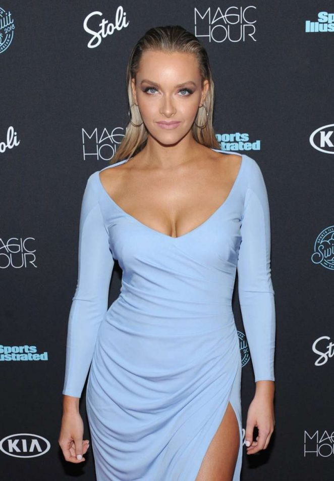 Camille Kostek – Sports Illustrated Swimsuit 2018 Launch Event in NY