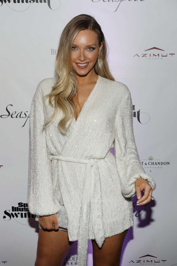 Camille Kostek - Sports Illustrated Swimsuit 2019 Issue Launch in Miami