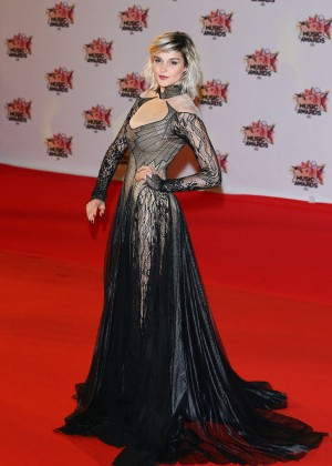 Camille Lou - 17th NRJ Music Awards in Cannes